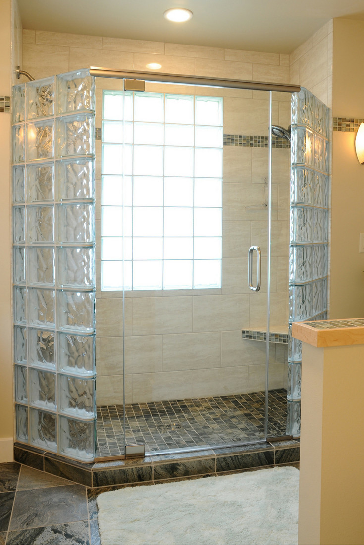 Ideas Glass Block Windows 5 Myths About How to Anchor A Glass Block Shower Wall