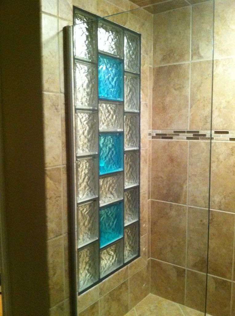 Ideas Glass Block Windows Decorative Glass Block Borders for A Shower Wall or Windows