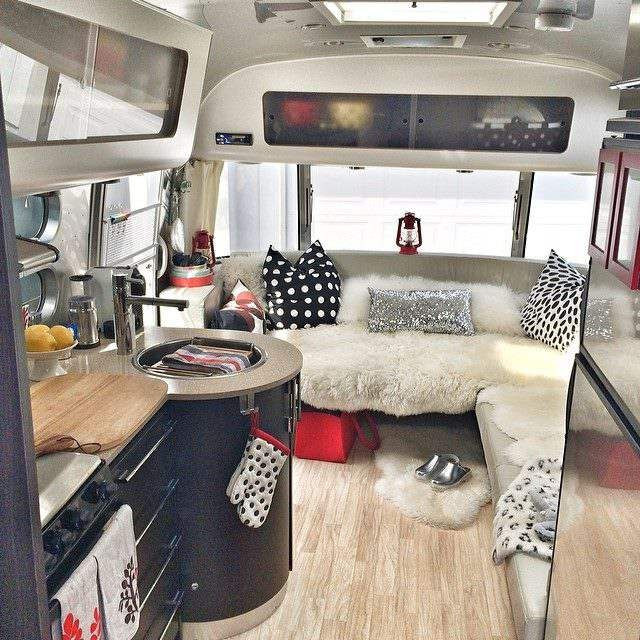 Interesting Airstream Interior Design 13 Modern Airstream Interiors E