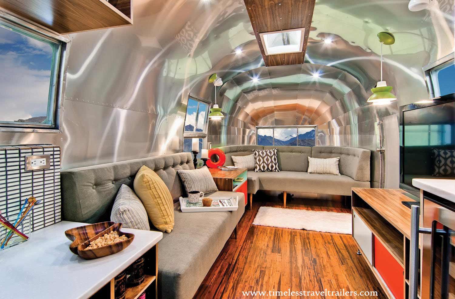 Interesting Airstream Interior Design 35 Stylish and Gorgeous Airstream Interior Design Ideas
