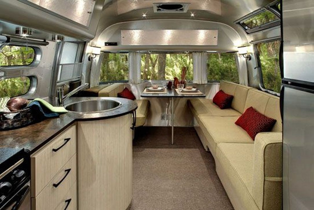 Interesting Airstream Interior Design 42 Amazing Luxury Travel Trailers Interior Design Ideas
