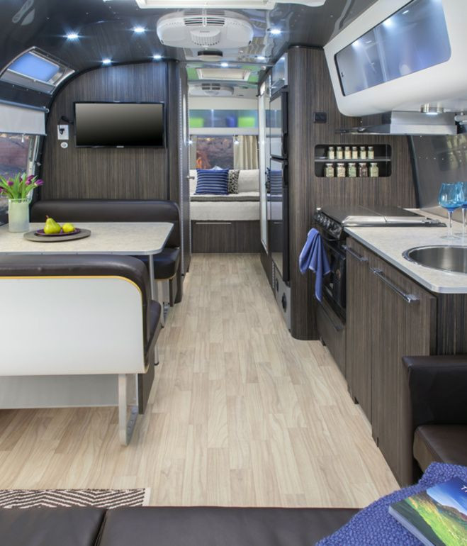 Interesting Airstream Interior Design 579 Best Images About Cool Rv & Camper Interiors On