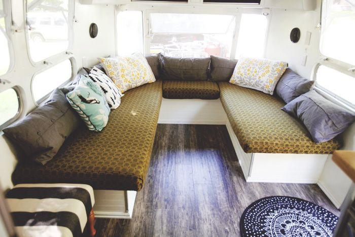 Interesting Airstream Interior Design 679 Best Images About Airstream Interiors On Pinterest