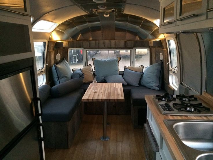 Interesting Airstream Interior Design 68 Best Dreambig Images On Pinterest