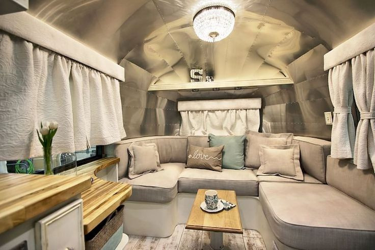Interesting Airstream Interior Design 758 Best Airstream Interiors Images On Pinterest