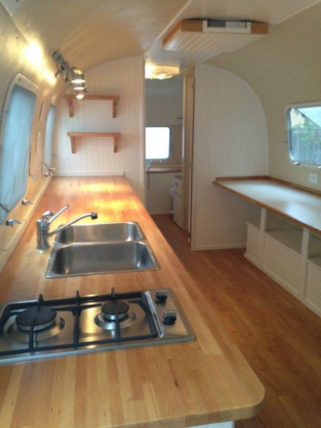 Interesting Airstream Interior Design 88 Best Airstream Wrap Around Seating Images On Pinterest