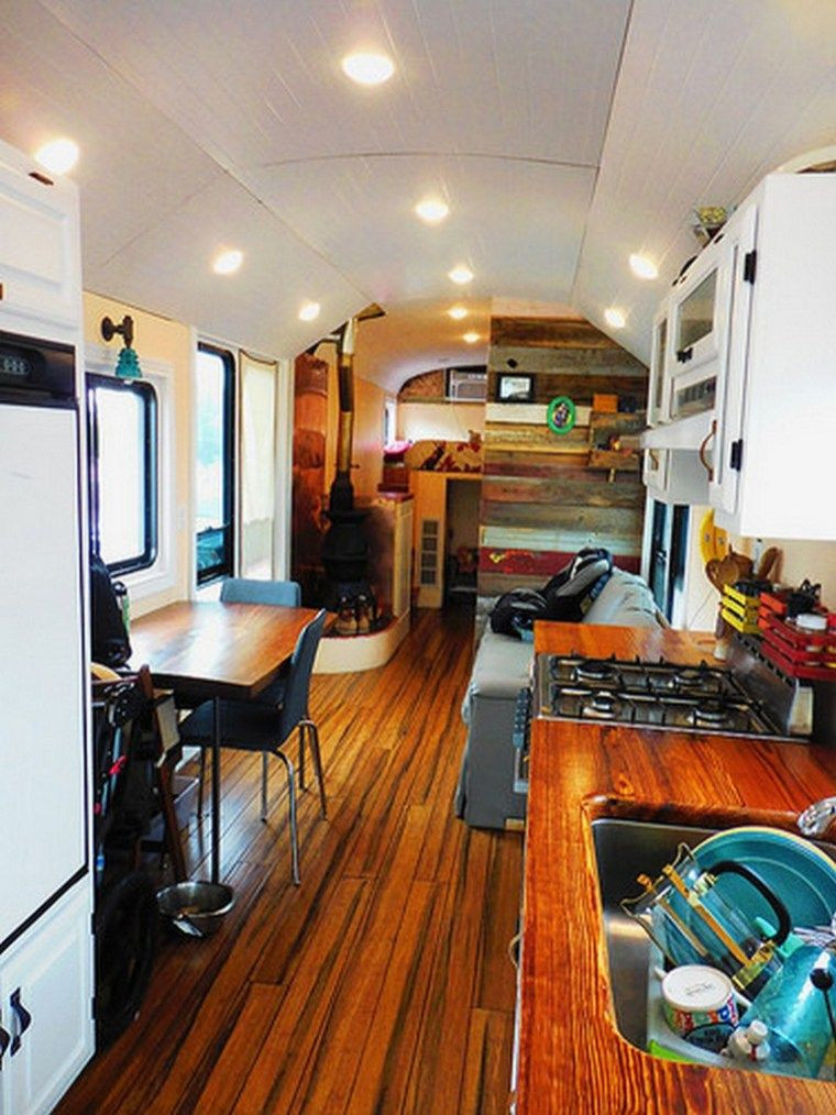 Interesting Airstream Interior Design Airstream Interior Design Ideas 37