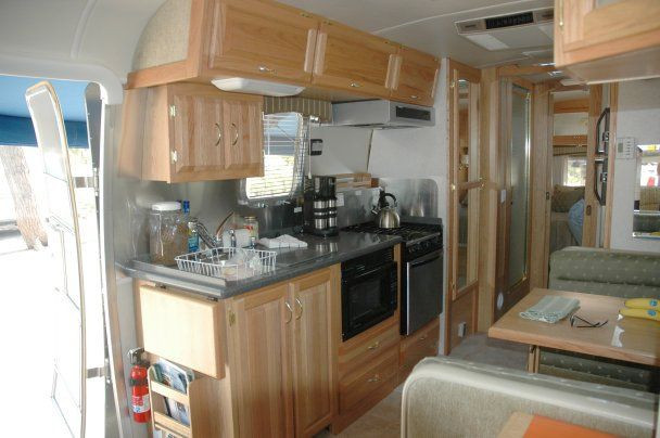 Interesting Airstream Interior Design Airstream Interior Design Ideas