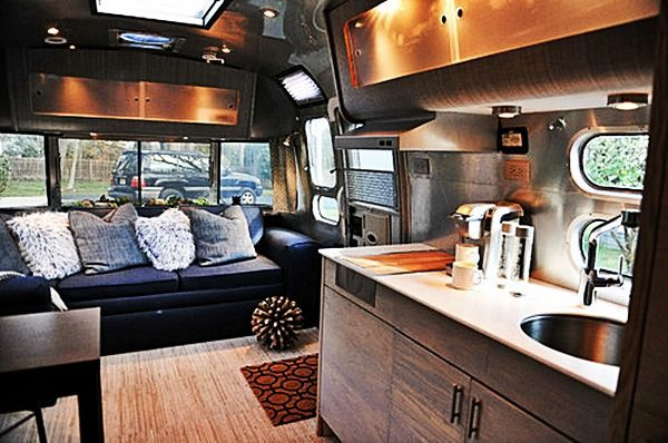 Interesting Airstream Interior Design Avion Ideas On Pinterest