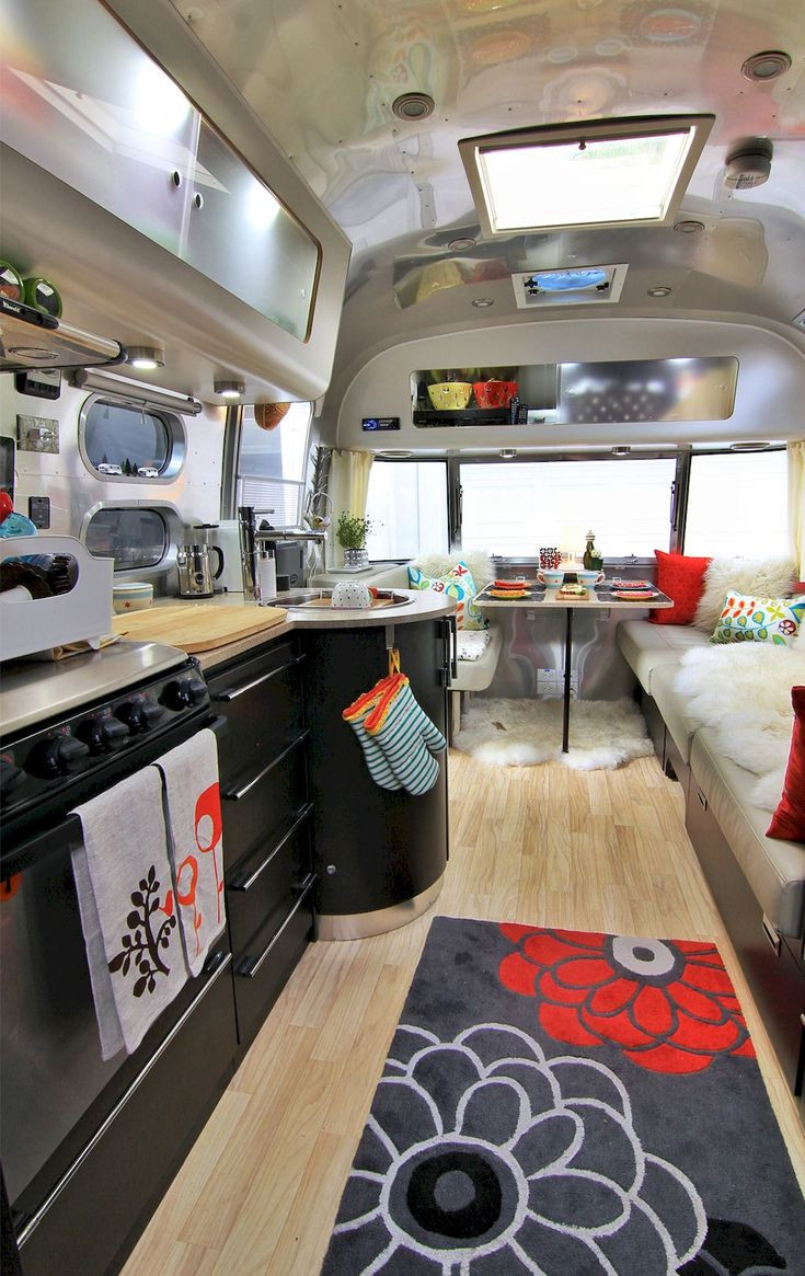 Interesting Airstream Interior Design Best 25 Camper Interior Design Ideas On Pinterest