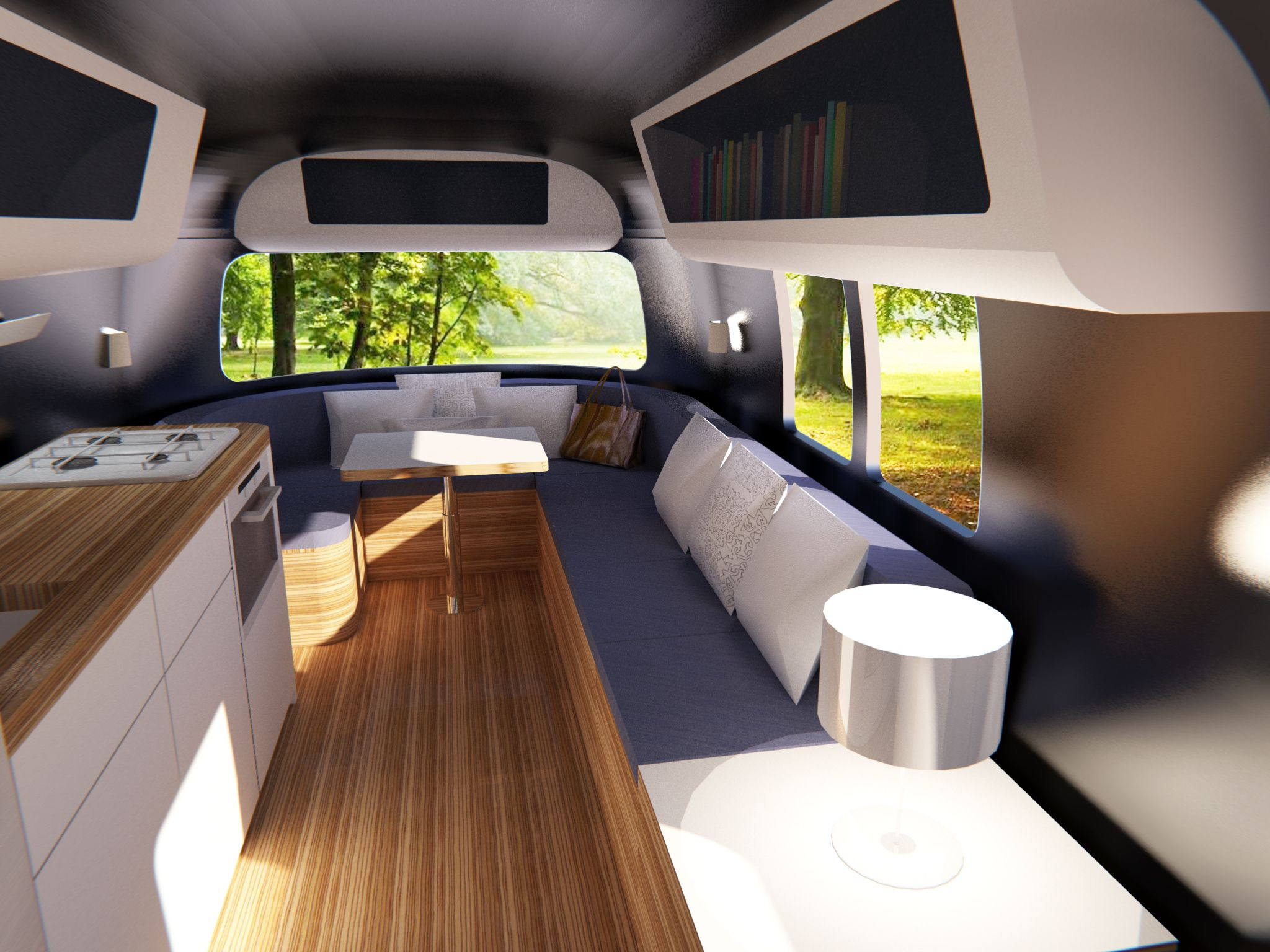 Interesting Airstream Interior Design Caravan Modern Living Google Search