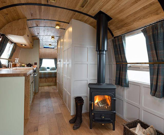 Interesting Airstream Interior Design Country Retreat In A Camper so Cute