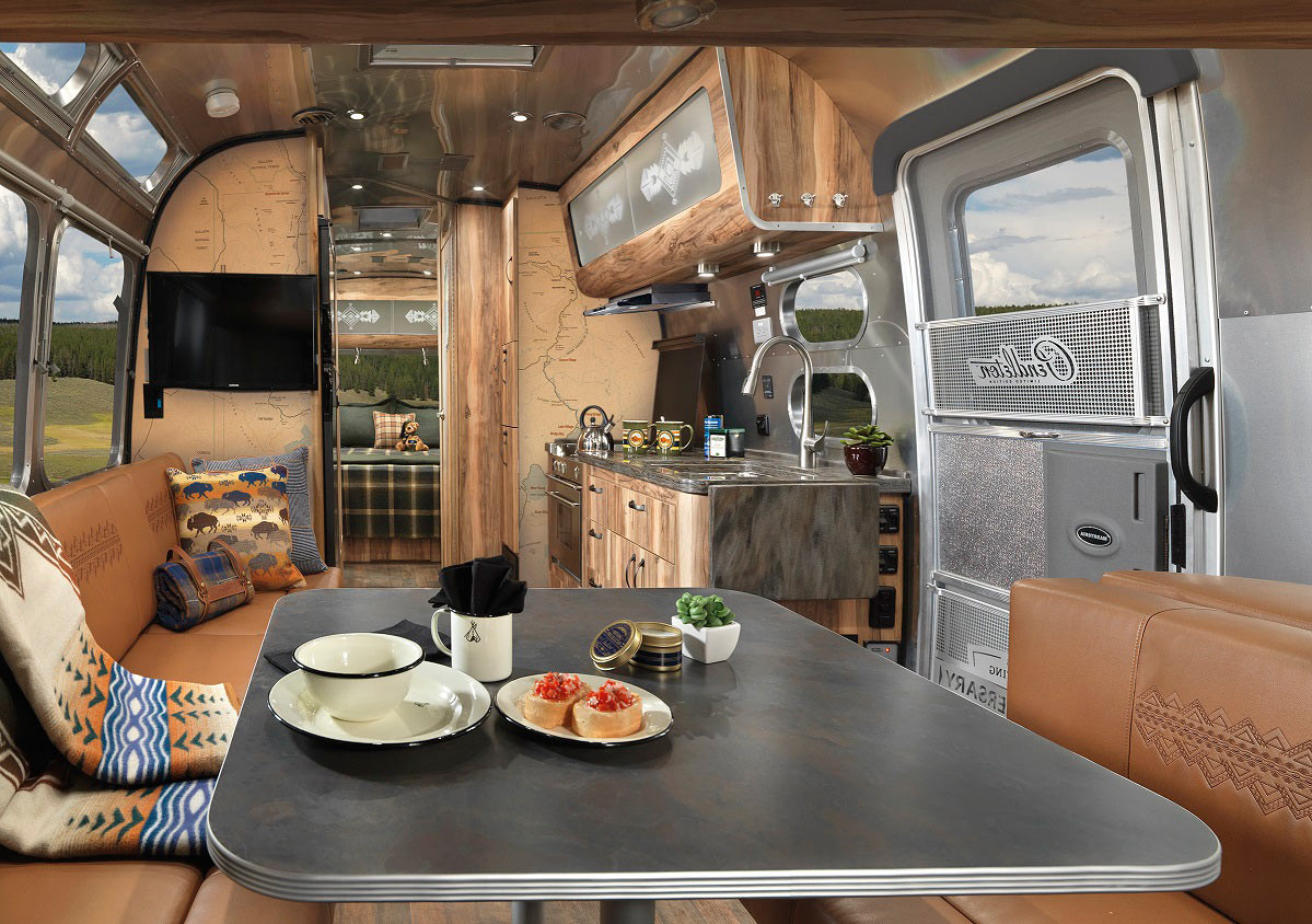 Interesting Airstream Interior Design the Coolest Modern Rvs Trailers and Campers Design Milk