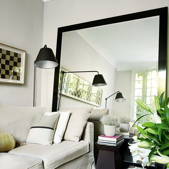 Living Room Mirrors Ideas Best 25 Oversized Mirror Ideas On Pinterest
