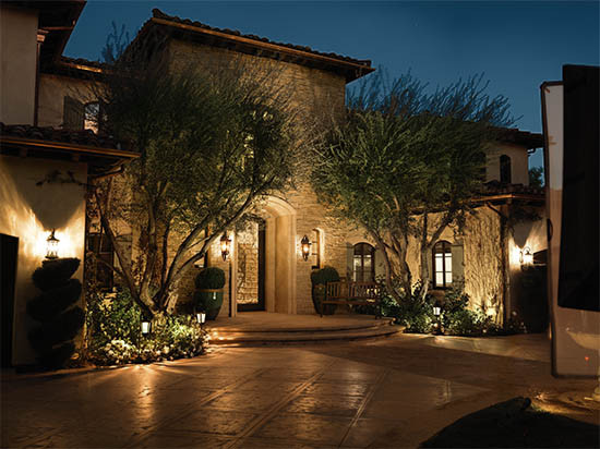 Outdoor Lighting Ideas Designing A Landscape Lighting System Ideas & Advice