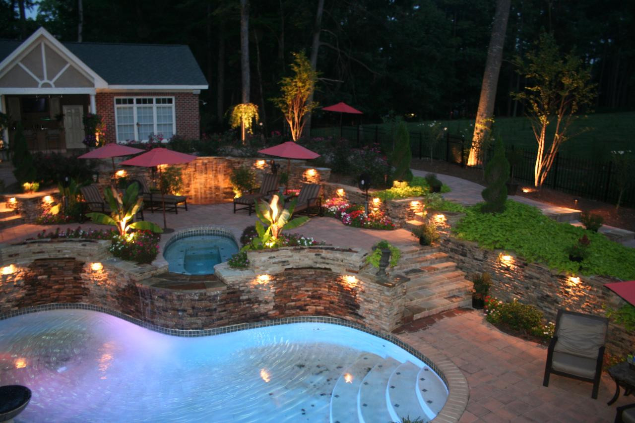 Outdoor Lighting Ideas Outdoor Landscape Lighting Design