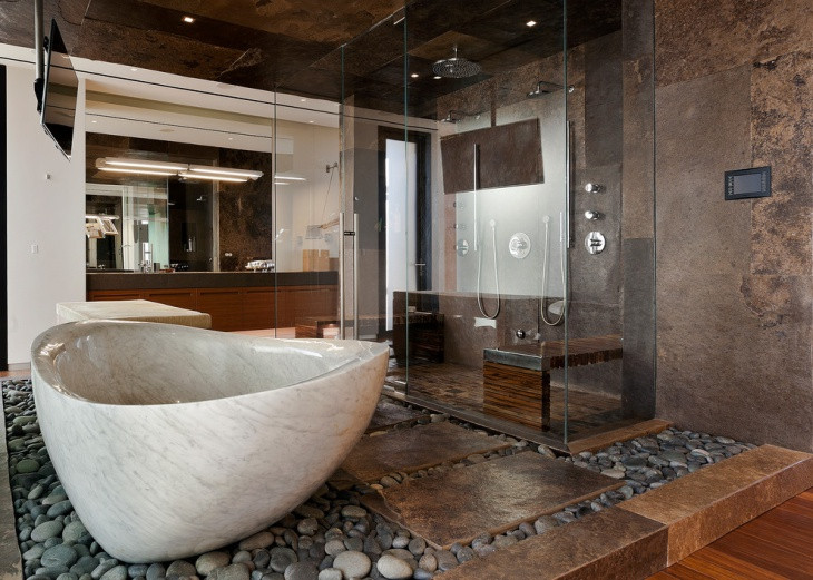 Unusual and Wonderful Bathroom Designs 20 Brown Bathroom Designs Decorating Ideas