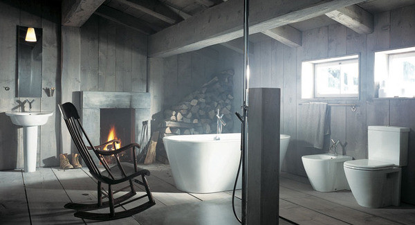 Unusual and Wonderful Bathroom Designs Bathroom Design Idea Rustic Vs Modern Style