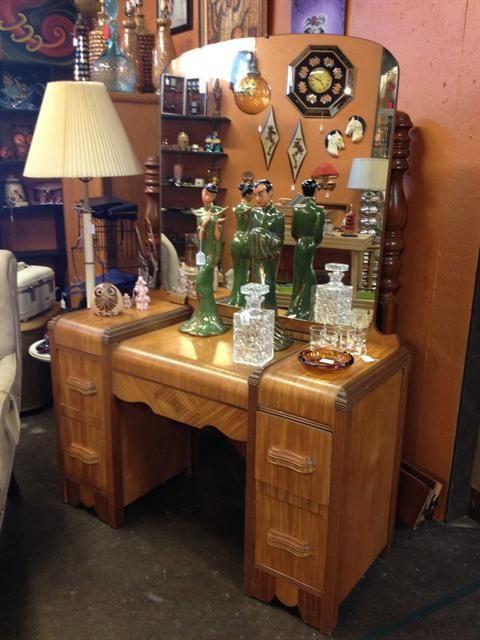 1940s Bedroom Furniture Styles 1940s Waterfall Bedroom Set