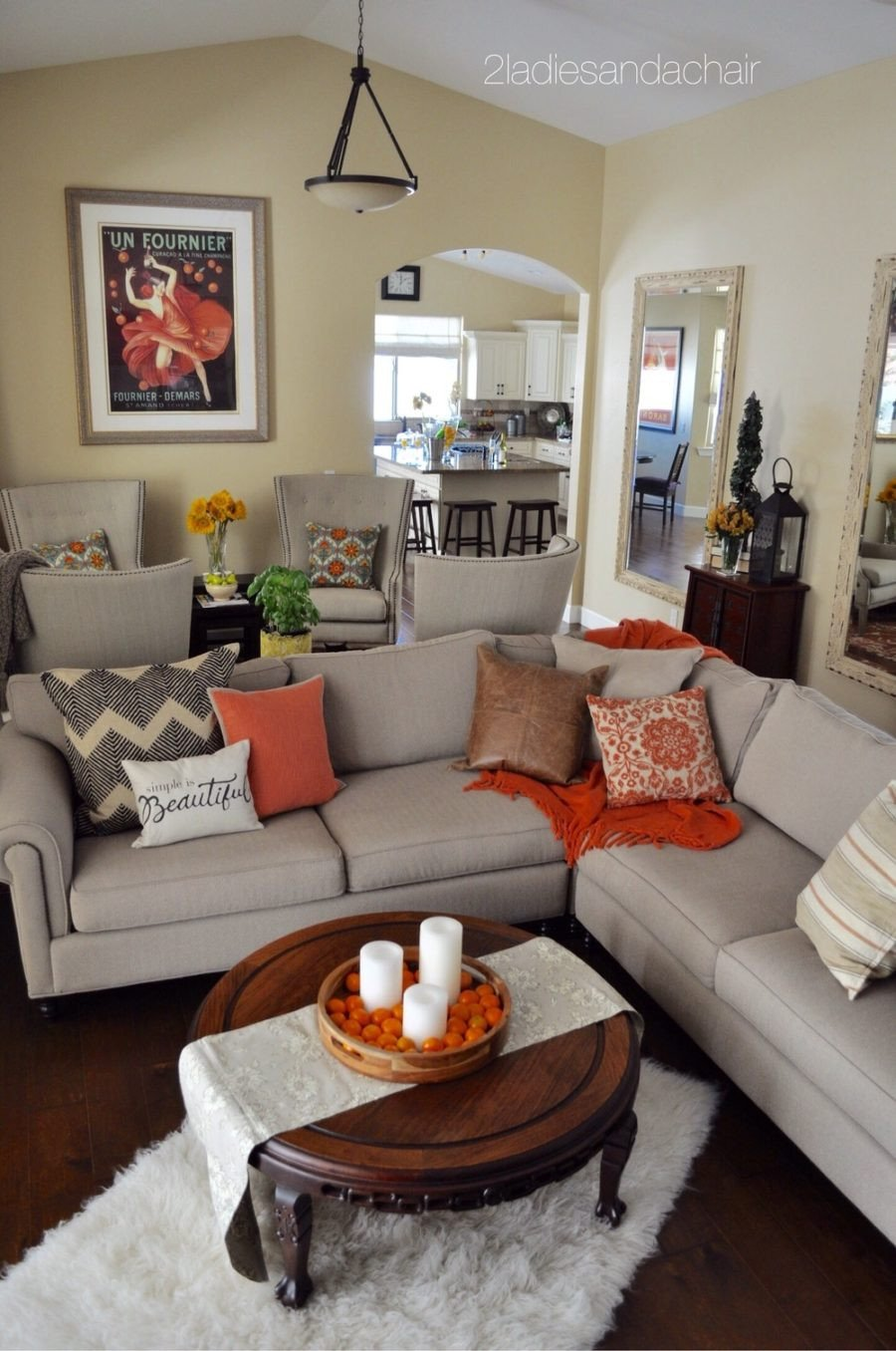 Accent Decor for Living Room Tis Autumn Living Room Fall Decor Ideas