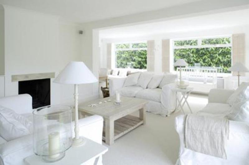 15 serene all white living room design ideas