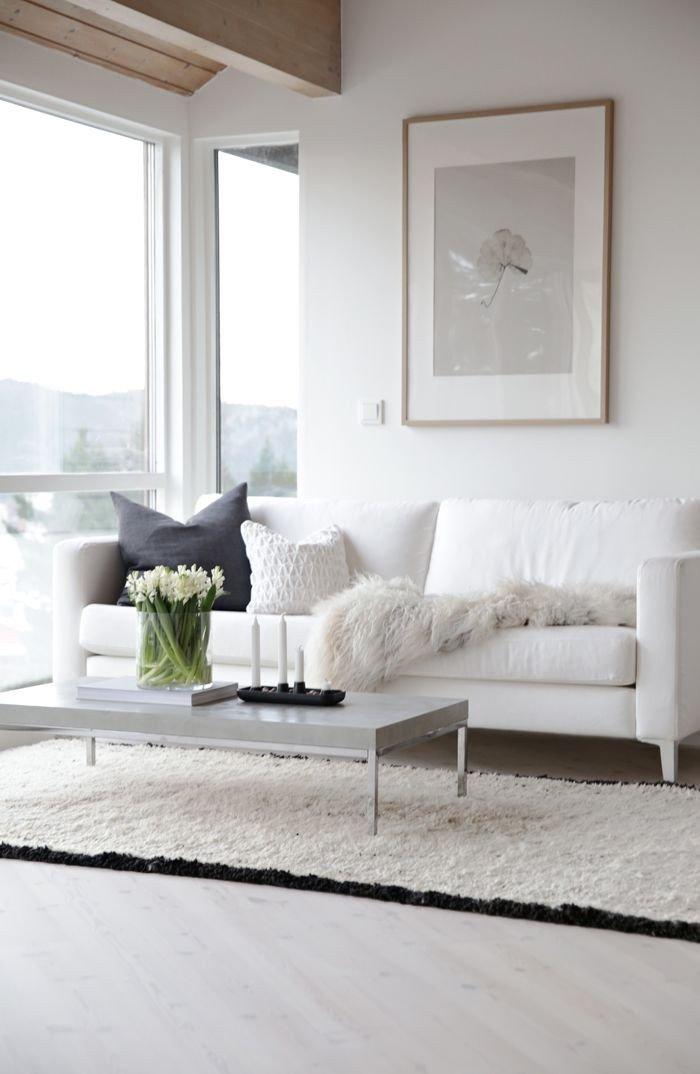 All White Living Room Decor 65 Modern Minimalist Living Room Ideas