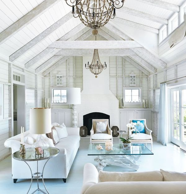 All White Living Room Decor Decorating All White Rooms Ideas & Inspiration