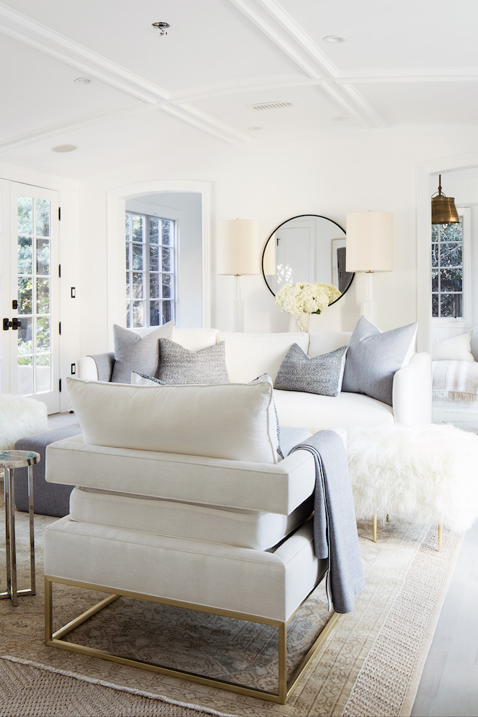 All White Living Room Decor Light and Bright All White Living Room with touches Of