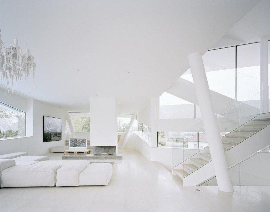 All White Living Room Decor White Living Room