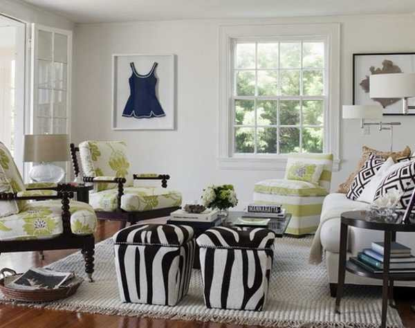 Animal Print Living Room Decor 21 Modern Living Room Decorating Ideas Incorporating Zebra