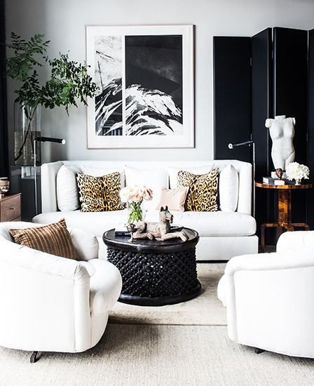 Animal Print Living Room Decor Animal Print Interior Decor for A Natural Look Of Your Home