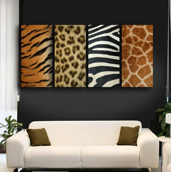 Animal Print Living Room Decor Animal Print Living Room Decorating Ideas