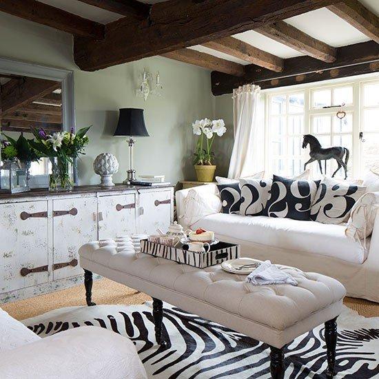 Animal Print Living Room Decor Decorating with Animal Prints Decorating