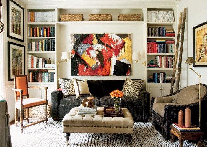Animal Print Living Room Decor Design A Pop Of Animal Print