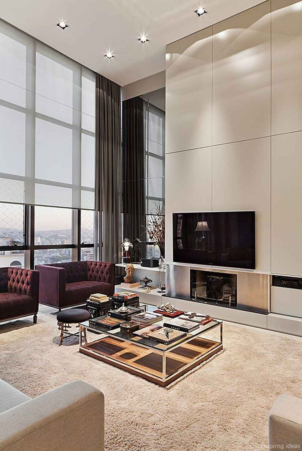 Apartment Living Room Decor Ideas Cozy Modern Apartment Living Room Decorating Ideas On A