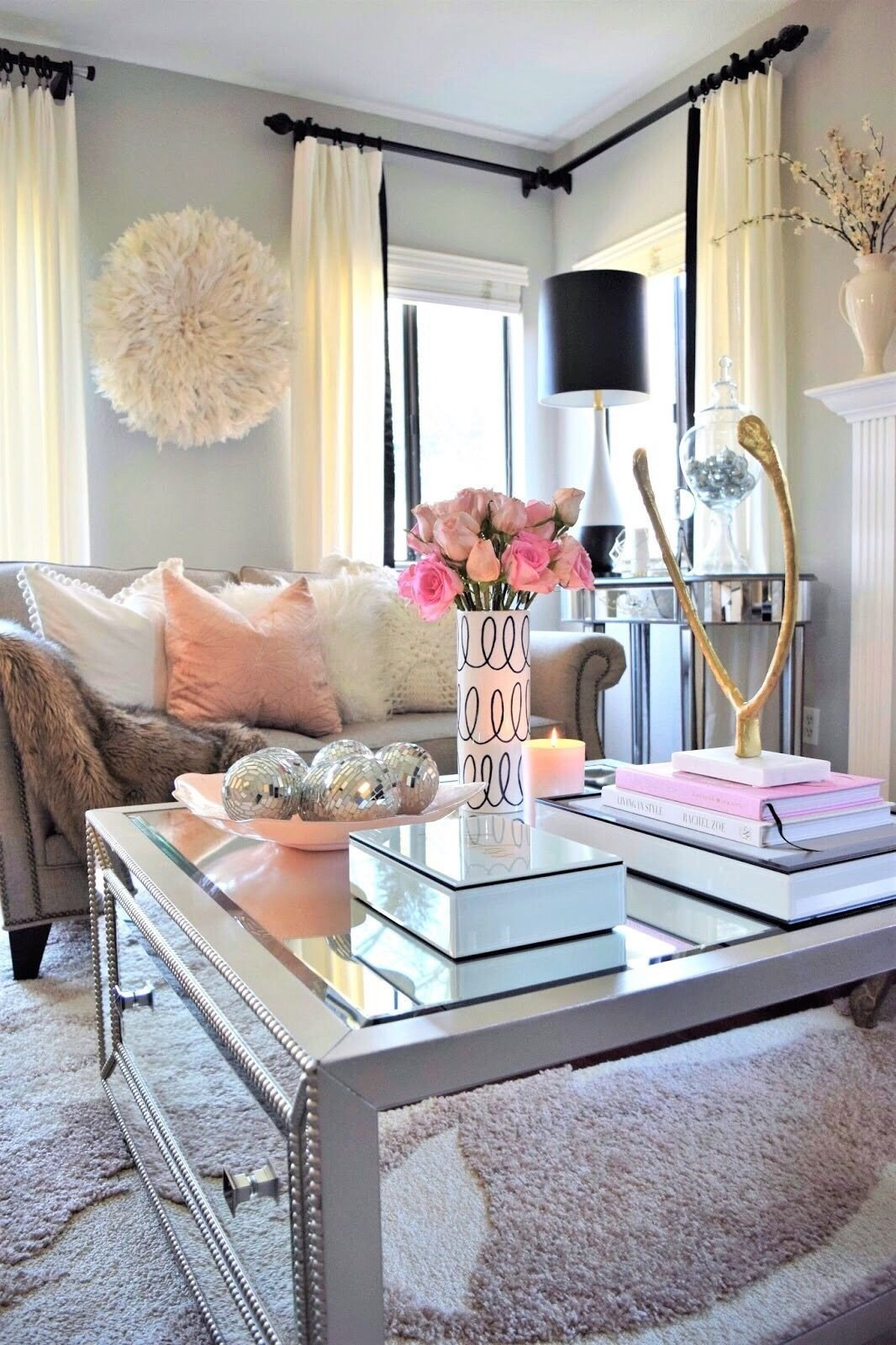 Apartment Living Room Decor Ideas the Secret to Coffee Table Decorating