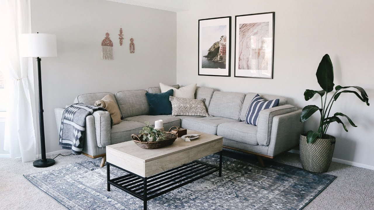 Apartment Living Room Decorating Living Room Apartment Makeover • Laying Out Furniture Tips