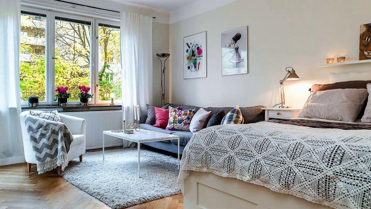 Apartment Living Room Decorating Small Studio Apartments