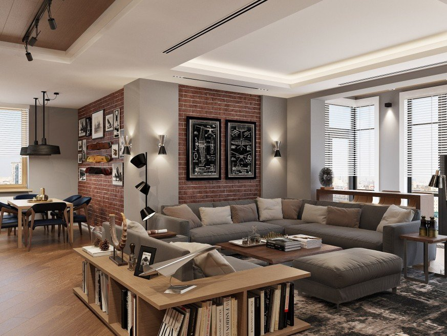 Apartment Living Room Ideas Inspiring Apartment In the Unique Residential Plex