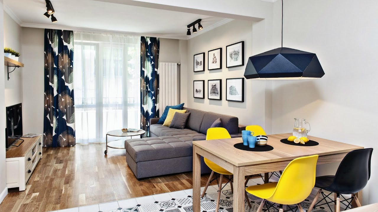 Apartment Living Room Ideas Small Apartments Design Modern European Interior