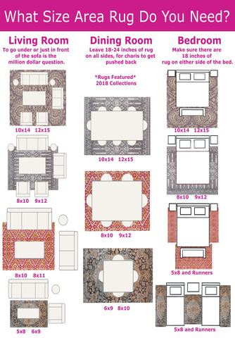 Area Rug for Bedroom Size Rugs 101 Selecting Rug Sizes for Every Room – Rug & Home