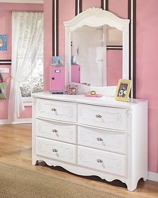 Ashley Furniture Kids Bedroom Exquisite Dresser and Mirror