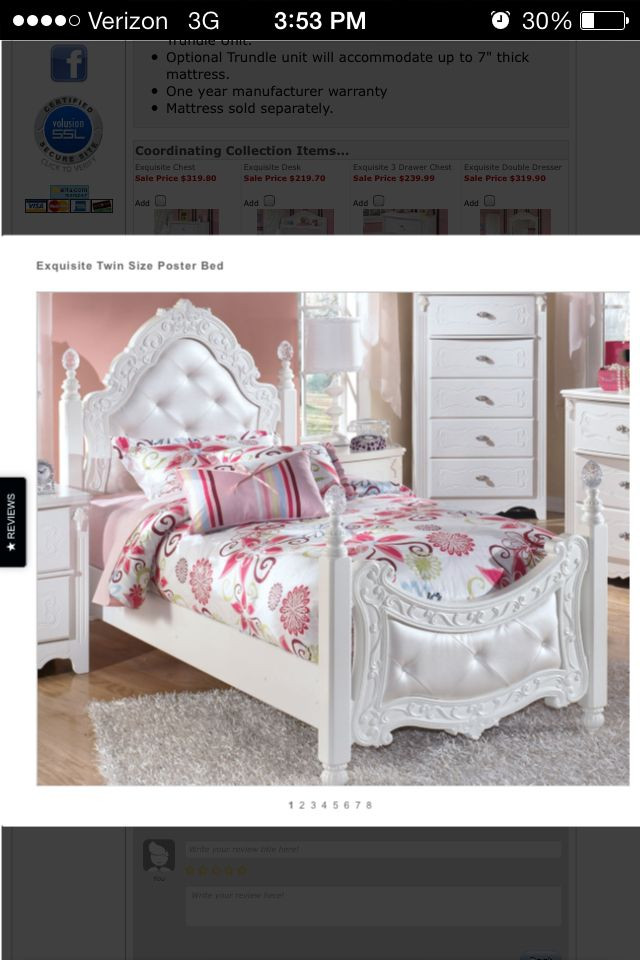 Ashley Furniture Kids Bedroom Gorgeousness ashley Furniture Twin Princess Bed
