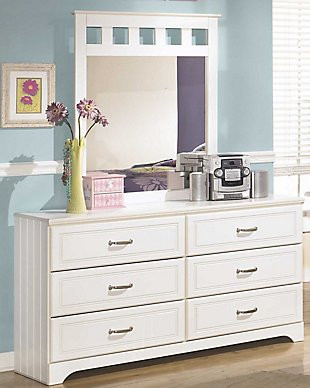 Ashley Furniture Kids Bedroom Lulu Dresser and Mirror