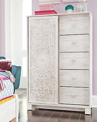 Ashley Furniture Kids Bedroom Paxberry Dressing Chest