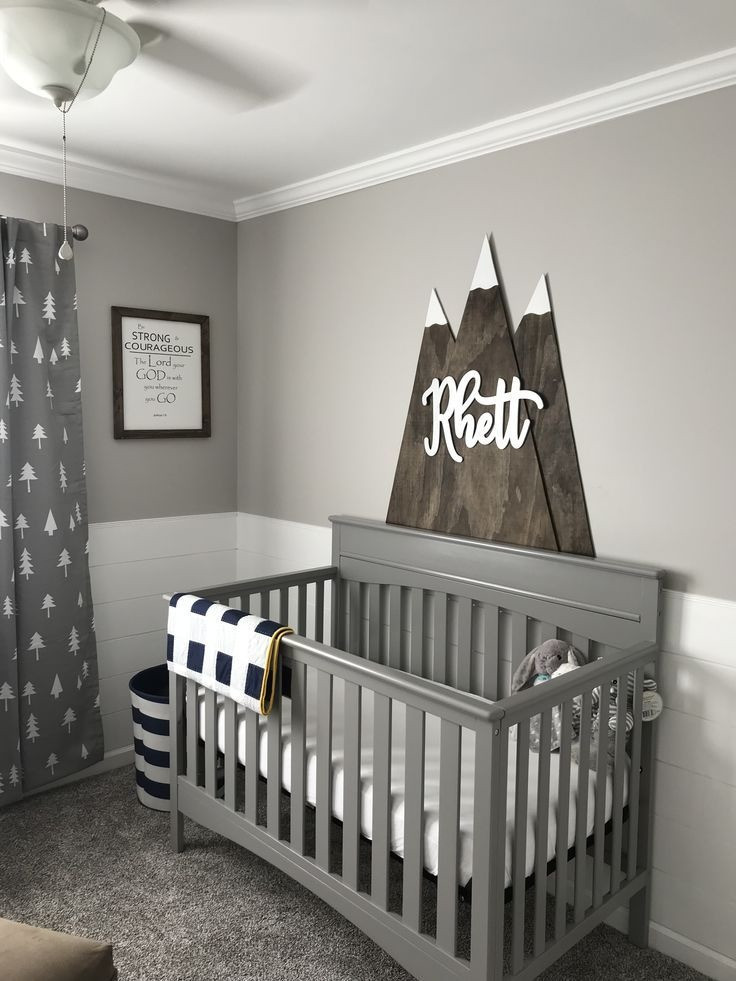 Baby Boy Bedroom Ideas 25 Gorgeous Baby Boy Nursery Ideas to Inspire You Baby