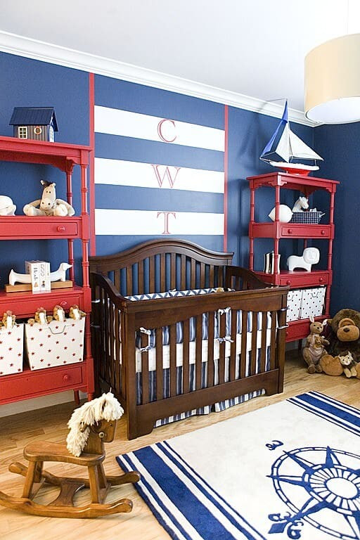Baby Boy Bedroom theme 30 Baby Boy Nursery Design Ideas S
