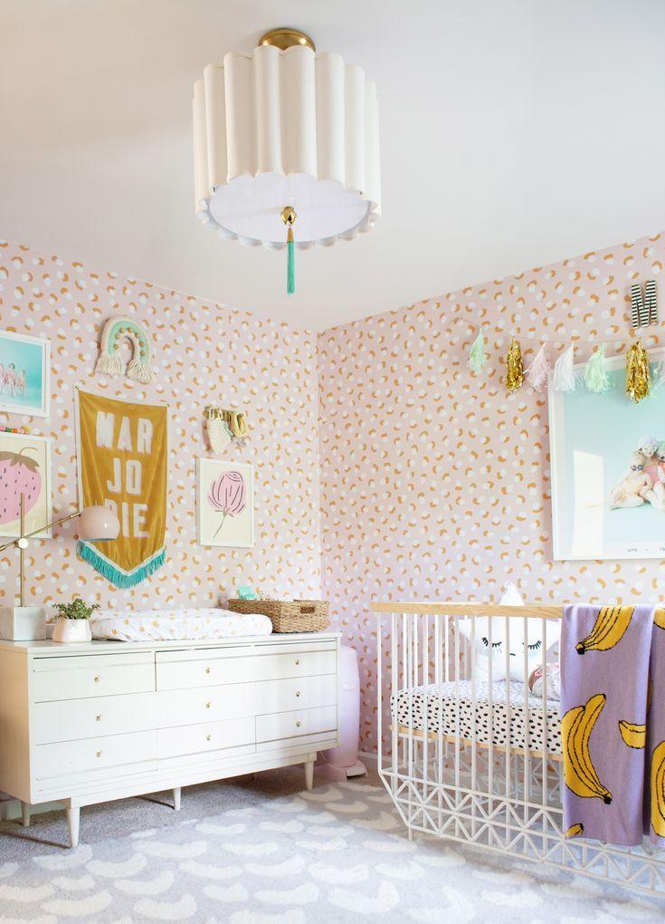 Baby Girl Bedroom Decor Modern and Sweet Baby Girl Room