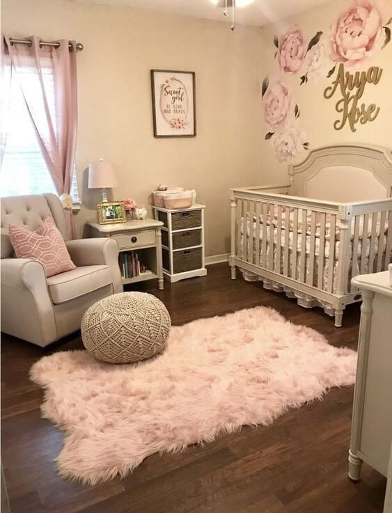 Baby Girl Bedroom Ideas 50 Inspiring Nursery Ideas for Your Baby Girl Cute Designs