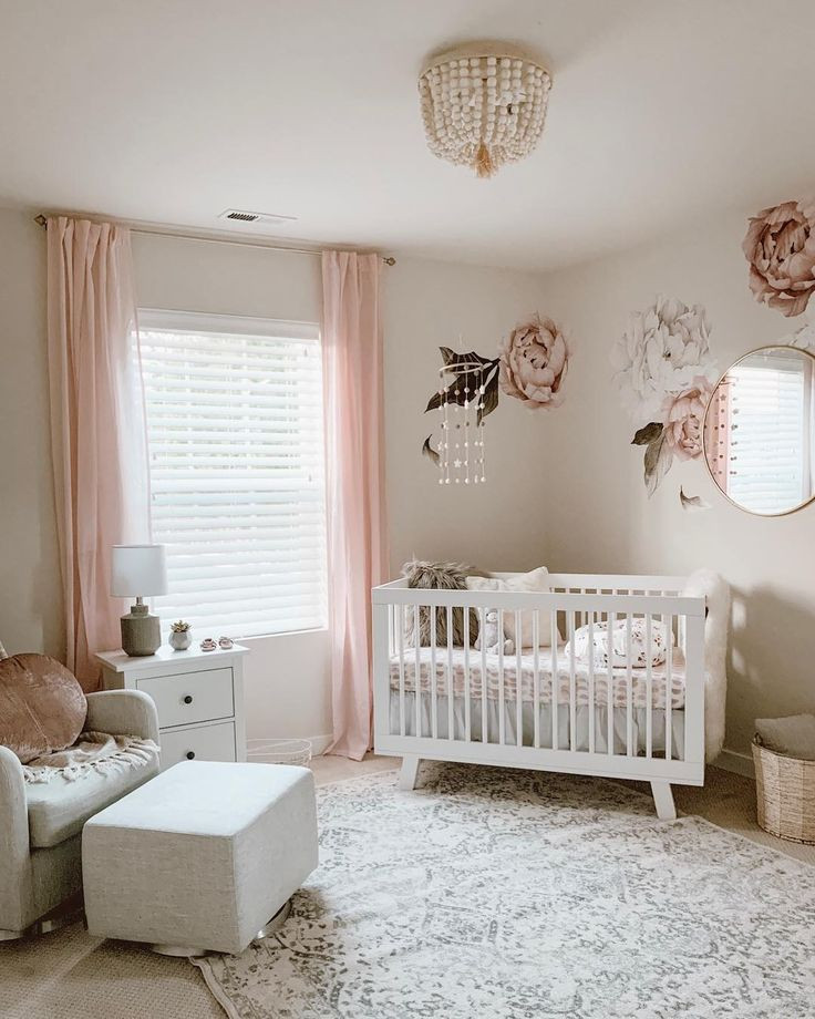 Baby Girl Bedroom Ideas Blushing Peonies